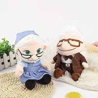 2pcs Pixar Movie UP Carl Fredricksen Grandpa Carl Plush Toy Russell Soft Doll A Birthday Present for Your Child