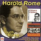 "album cover: Harold Rome ""A Touch of Rome"""
