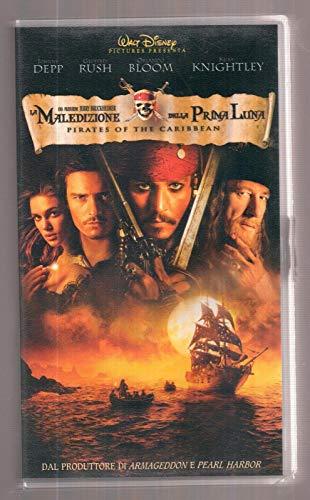 LA MALEDIZIONE DELLA PRIMA LUNA VHS - Walt Disney - JOHNNY DEPP