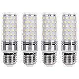 SanGlory Bombillas LED E27 12W, Blanco Frío 6000K, 1350lm LED Luz de Maiz Lampara Equivalentes a...