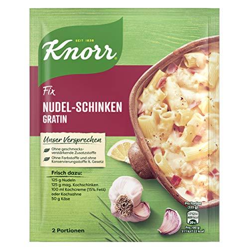 Knorr Fix Nudel-Schinken Gratin 2 Portionen, 29er Pack (29 x 28g)