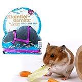 BigFamily Hamster Gerbille Rat Cage pour Animal Domestique réglable en Nylon Traction Corde avec Bell Maisonnette Laisse à Harnais