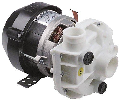 FIR Bomba para lavavajillas Jemi GS-19, GS-18, GS-7, GS-8-2, 550 W, entrada de 230 V, diámetro de salida de 45 mm, diámetro de salida de 40 mm, longitud de 235 mm, 50 Hz