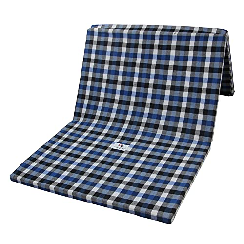 winifred 2 Inch Dual Comfort Reversible Foldable EPE Foam Single 3 Fold Bed Mattress (Medium, 72 x 35 x 2 Inch)