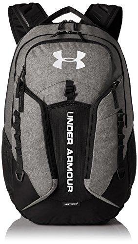 Under Armour UA Contender Backpack, Zaino Unisex Adulto, Grigio (Graphite/Black/White), Taglia unica