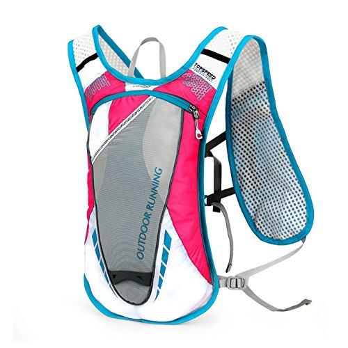 Miles Sail Vrouwen Mannen Hardlopen Rugzak Lichtgewicht Outdoor Sport Trail Racing Marathon Wandelen Fitness Bag Vest voor Fietsen Klimmen XA189WA