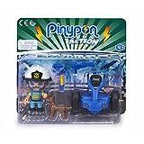 Pinypon Action - Segway vehículo de policía con 1 Figura, para niños y niñas a...