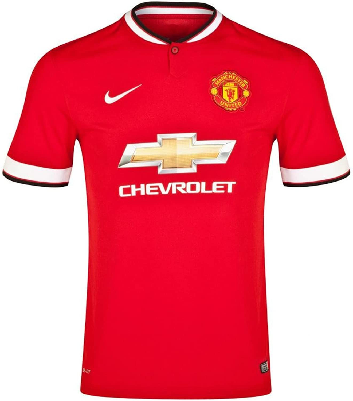 Nike Boy's Manchester United Home Stadium Short Sleeve Jersey