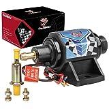 Carbole Universal Electric Fuel Transfer Pump Self-Priming 35 GPH 5-9PSI 12V