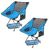 Chaise de Camping Pliante, Légère et Portable...
