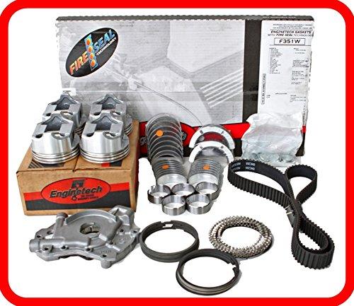 Engine Rebuild Overhaul Kit FITS: 1996-2000 Honda Civic Del Sol VTEC 1.6L SOHC L4 16v D16Y8