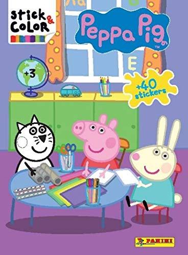 Peppa Pig. Stick & color (nº73)