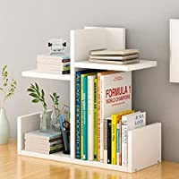 ブックシェルフ、家庭用ベッドサイドテーブルシェルフテーブルシンプルストレージキャビネットスモールストレージシェルフ3色オプションのブックシェルフ(色:B、サイズ:43x17x40cm)