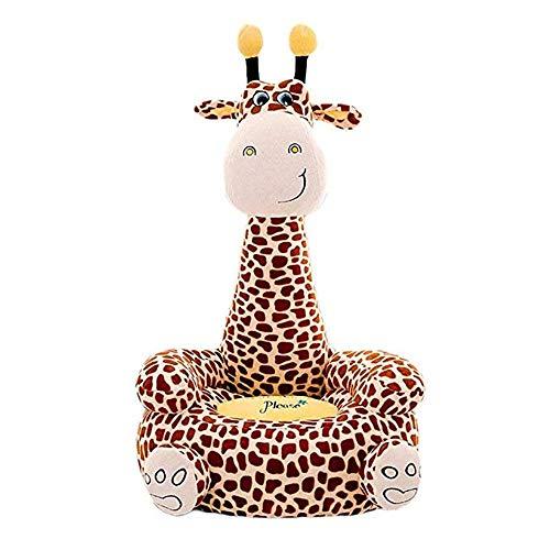 Ouqian Kleinkinder Sofas Kinder Plüsch Stuhl Infant Unterstützung Sitz Sofa Baby Entzückende Cartoon Tier Kissen Spielzeug Kinder Sofa Kissen Essen Boden Stuhl Couch Kindersofas