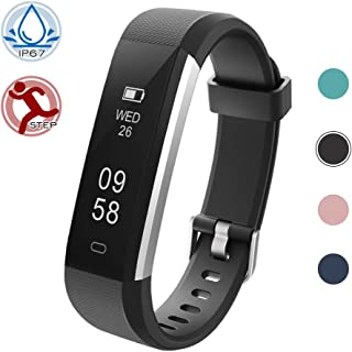 Lintelek Activity Tracker Fitness Tracker Pedometer with Steps and Calorie Counter, Sleep Monitor for Android Phone or iPhone