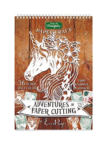 Paper Cutting Series Two von Emma Boyes, Papercut-Vorlagen, Designs und Muster, perfekt für Anfänger: Verwandeln Sie ein einzelnes Stück Papier in ein Kunstwerk