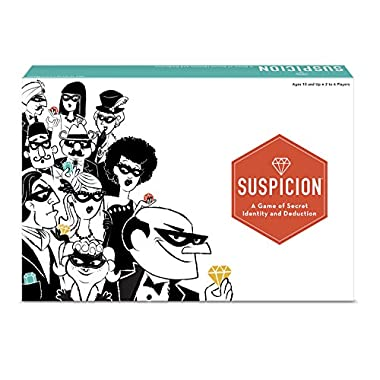 The Wonder Forge 60001511 Suspicion Family Board Game,