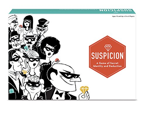 The Wonder Forge Suspicion Family Board Game