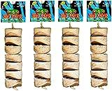 Wesco Pet Original Bird Kabob Shreddable Bird Toy (4 Pack)