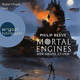 Der Grüne Sturm     Mortal Engines 3              Autor:                                                                                                                                 Philip Reeve                               Sprecher:                                                                                                                                 Robert Frank                      Spieldauer: 9 Std. und 57 Min.     139 Bewertungen     Gesamt 4,4