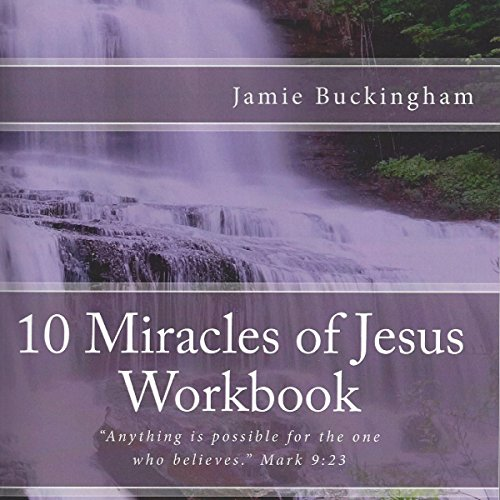 10 Miracles of Jesus Workbook cover art