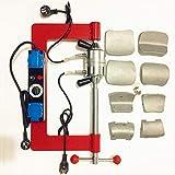 MRCARTOOL Macchina di Riparazione per Pneumatici Auto, Kit di Riparazione per Pneumatici Vulcanizzante Regolazione Automatica della Temperatura Macchina per la Vulcanizzazione dei Pneumatici.