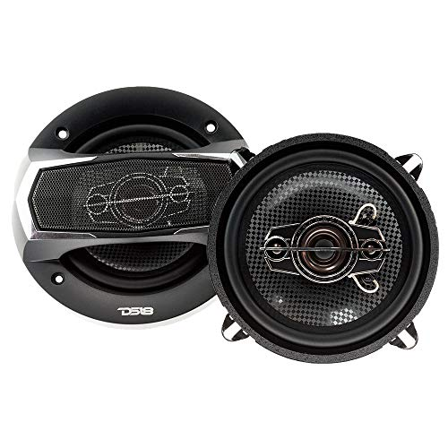 "DS18 SLC-N69X Coaxial Speaker - 6x9"", 4-Way Speaker, 260W Max Power, 65W RMS, Woofer, Midrange, and Tweeters in one, Removable Cover Included - SELECT Speakers Provide Undiscovered Value - 2 Speakers"