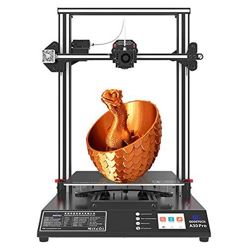 DERUC geeetech A30 PRO 3D Drucker mit Super Grossem Bauraum:320 * 320 * 420mm3,TF-Karte Standalone-Druck, Smartto 32-Bit-Prozessor,Halb Montiertes DIY Kit