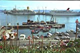 588028 Madeira Harbor Funchal Madeira A4 Photo Poster Print