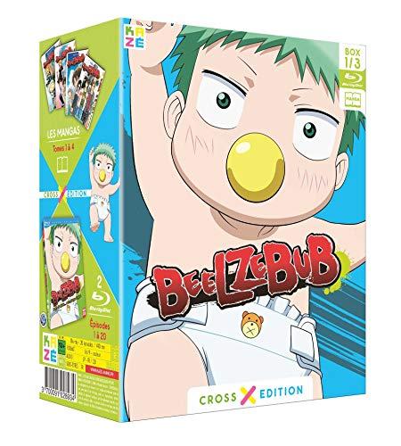 Beelzebub-Saison 1-Box 1/3 Collector [Cross Edition Blu-Ray + Manga]