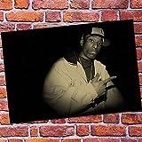 Sin Marco Biggie Smalls/DITC Big Rock West Coast Rap Hip Hop Rap Singer Poster Hight Quality Home Decor Wall Art Decoración del hogar 60x90cm
