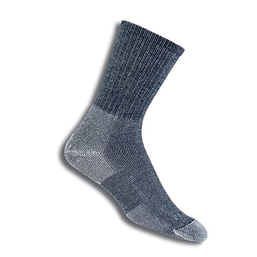 Thorlos Unisex Ultra Light Trekking Crew Socken L seeblau