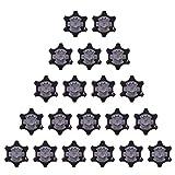Hinleise - Tacchetti di Ricambio per Scarpe da Golf, Colore: Nero, 20 Pezzi