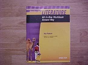prentice hall literature grade 10 answer key