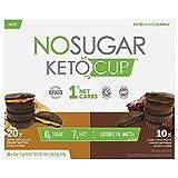 NO SUGAR KETO CUP 30 x0.6oz (17g) Pieces NET WT 18 oz (1lb 2oz) 510g