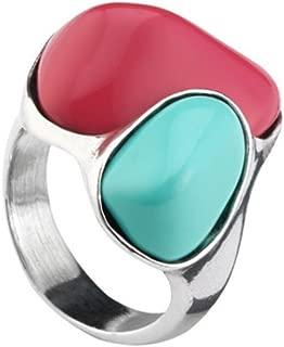 Uno de 50 SEASHORE ring Ring 7 1/2(USA)-O 1/2(UK) ANI0553MCLMTL0L