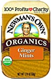 Newman's Own Organics Mints Ginger, 1.7600-ounces (Pack of6)