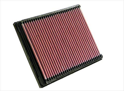 K&N 33-2237 Filtro de Aire Coche, Lavable y Reutilizable