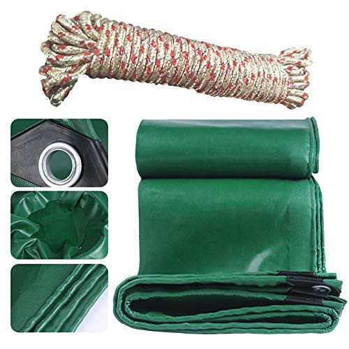 FFJD Waterproof Camping tarp with Drawstring for Ground Camping Hiking-3x3m