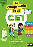 Je comprends tout CE1 - Tout en un (cours + exercices) pour réviser tout le programme du CE1 dans toutes les matières