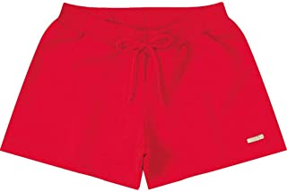 Short Marisol Básico Menina Vermelho