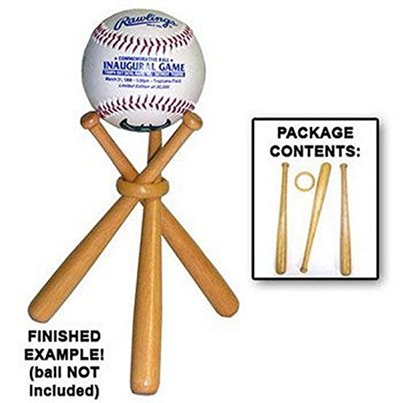 DISPLAY HOLDER STAND FOR BASEBALL - GOLF BALL - TENNIS BALL etc. Makes A Great Christmas Stocking Stuffer, Holiday Favor, Birthday or Father's Day Gift