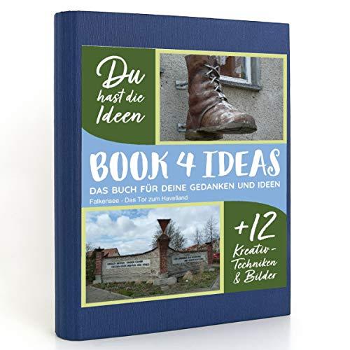 BOOK 4 IDEAS modern | Falkensee - Das Tor zum Havelland, Eintragbuch mit Bildern
