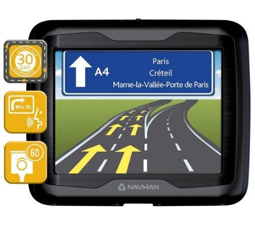 Navman F360 - Navegador GPS con mapa de 23 países de Europa (pantalla de 3,5