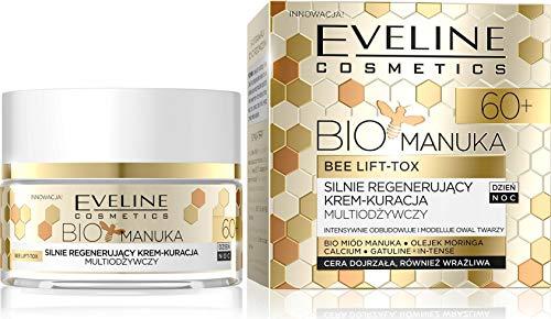 Eveline Cosmetics Bio Manuka Lift Crème Lifting Visage Jour/Nuit 60+ 50 ml