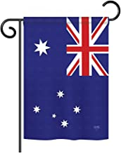Breeze Decor G158122 Australia Flags of The World Nationality Impressions Decorative Vertical Garden Flag 13