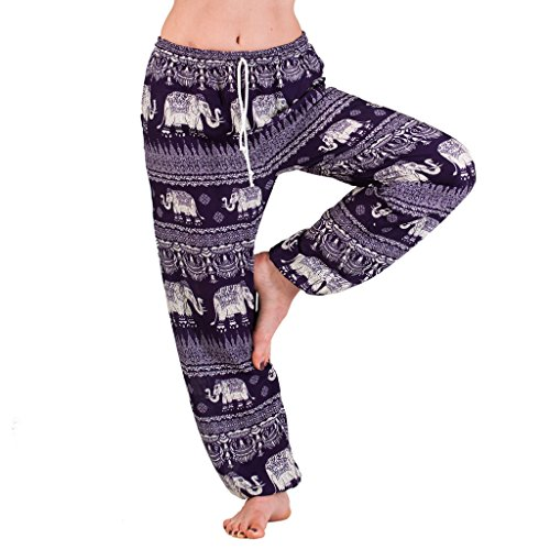 PANASIAM Aladin Muck Pants, Elefant-Style 01, in lila