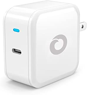 USB-C Power Delivery Wall Charger, 30W Adapter for Apple MacBook Pro, Nintendo Switch/3DS, Google Pixel 2/XL, Nexus 6P/5X, Huawei Honor 10/P20 Pro, OnePlus 6/5T and more - White
