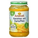 Alnatura Demeter Bio Karotte-Kartoffel, glutenfrei, 6er Pack (6 x 190 g)