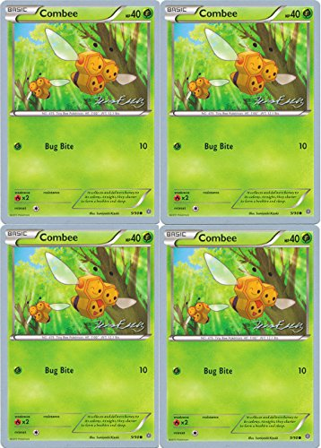Pokemon Card - Combee 9/98 - World Championship 2016 - x4 [Playset]